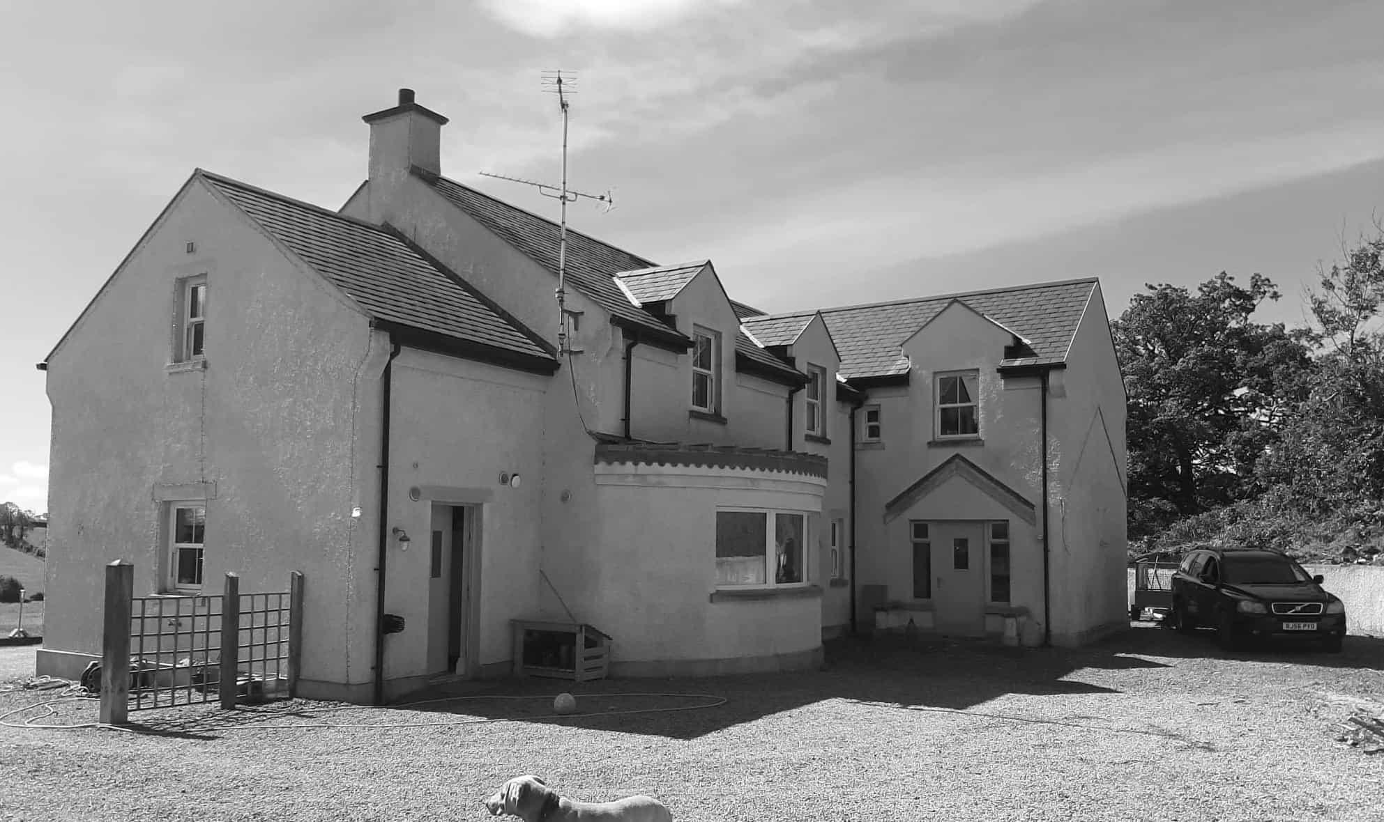 Wilson Dwelling - Rear View