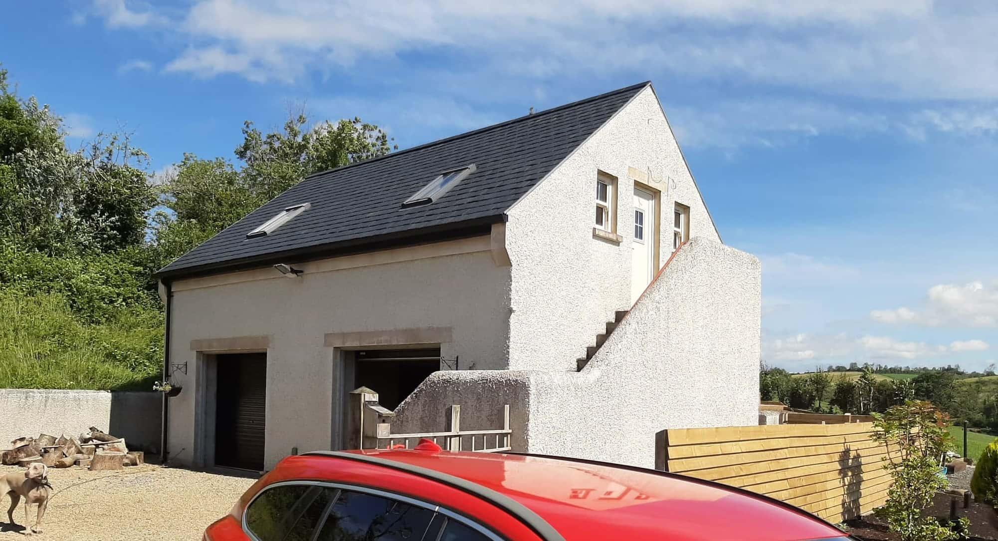 Wilson Dwelling - Garage