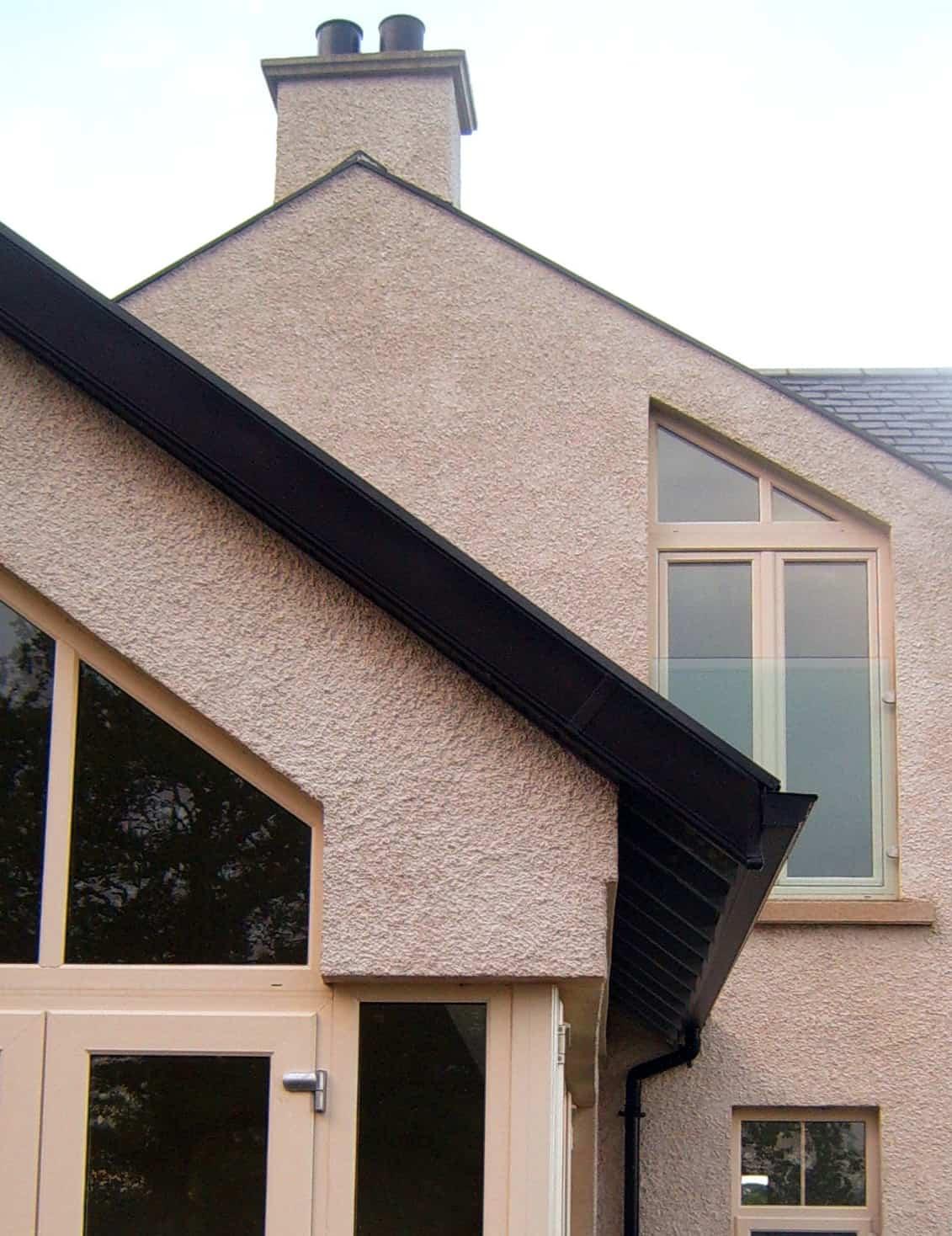 Wilson Dwelling - Detailing Side Elevation Rafter Ends