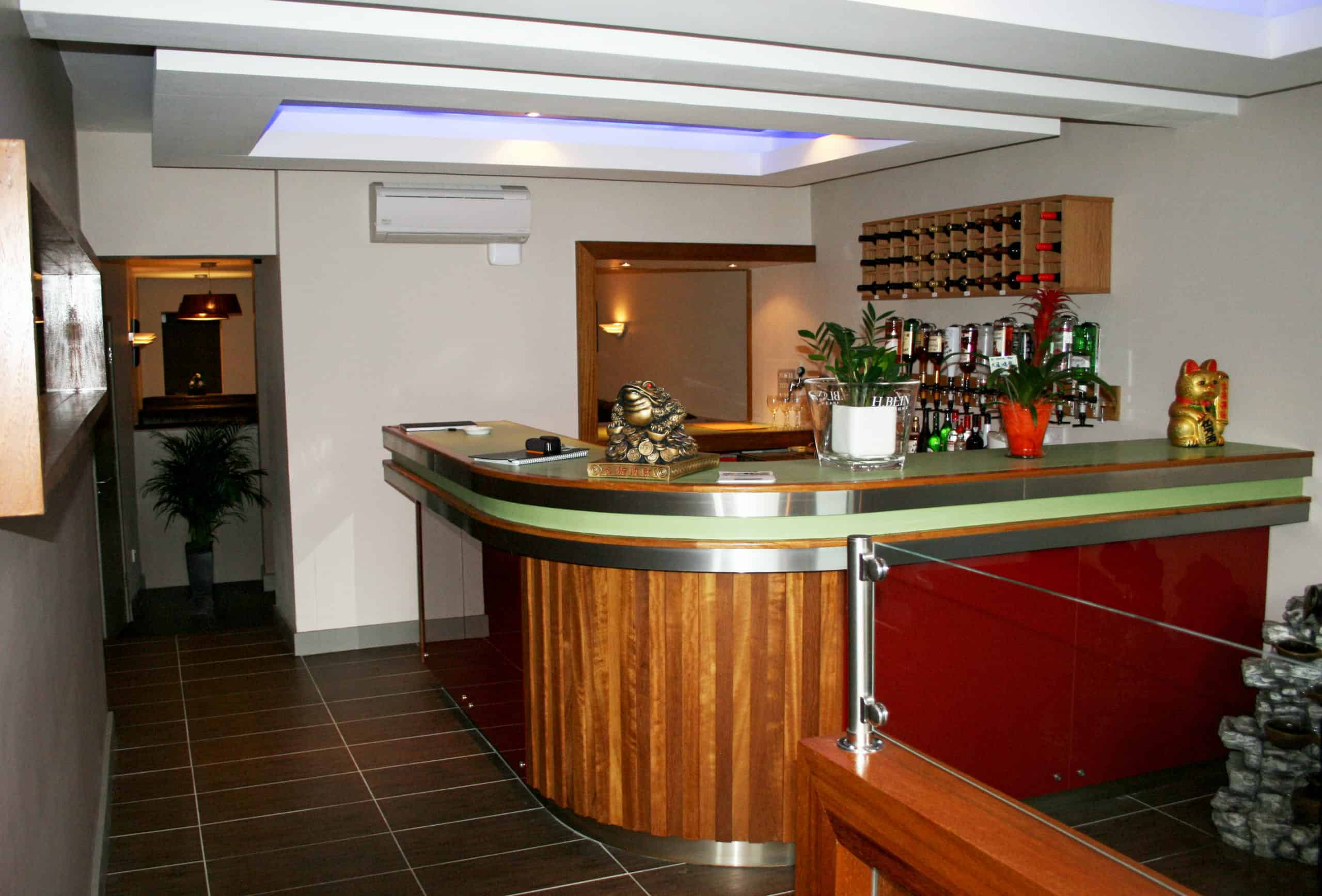 Jackie Huang Restaurant Irvinestown - Bar Area
