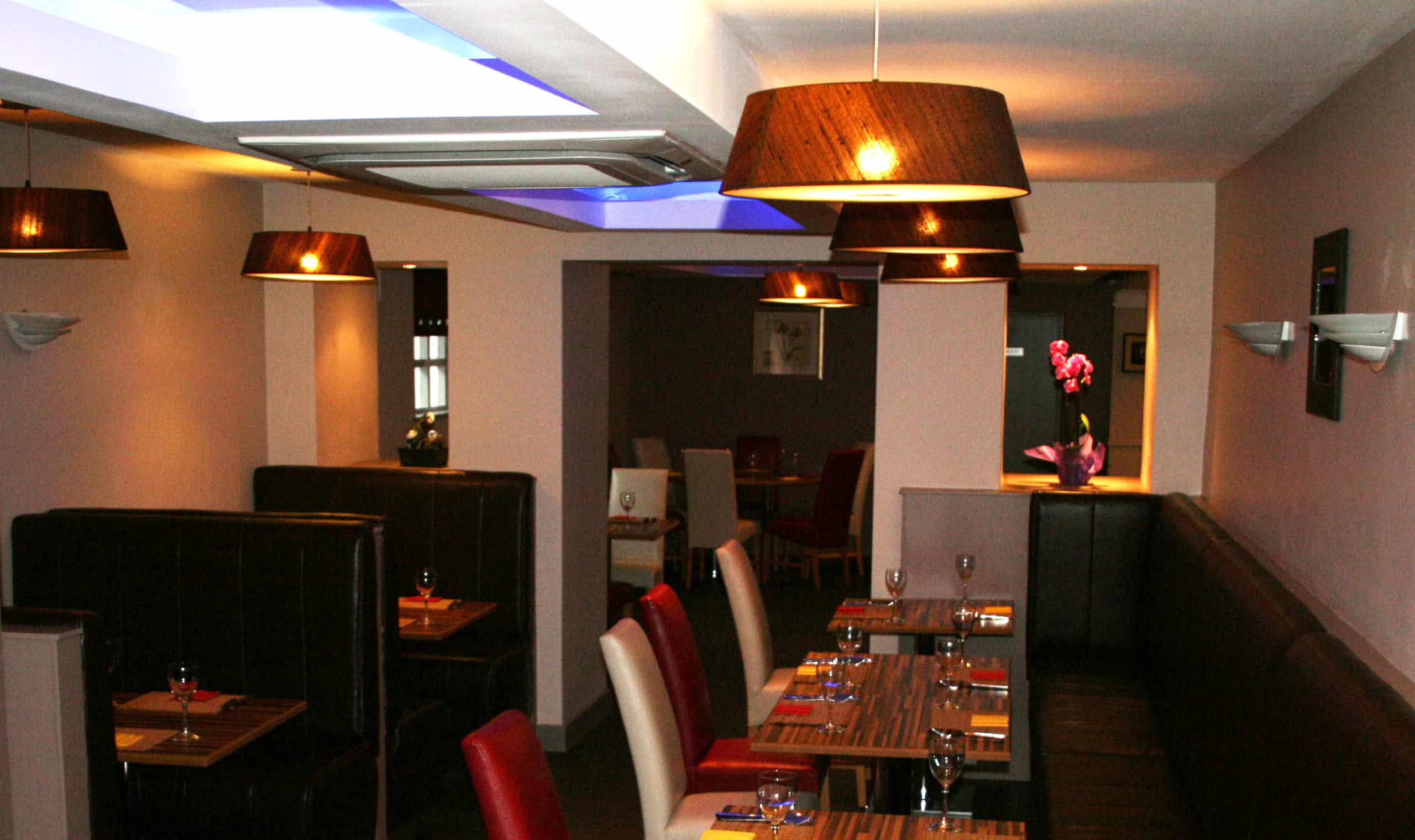 Jackie Huang Restaurant Irvinestown - View From Bar Into Couples Entrance