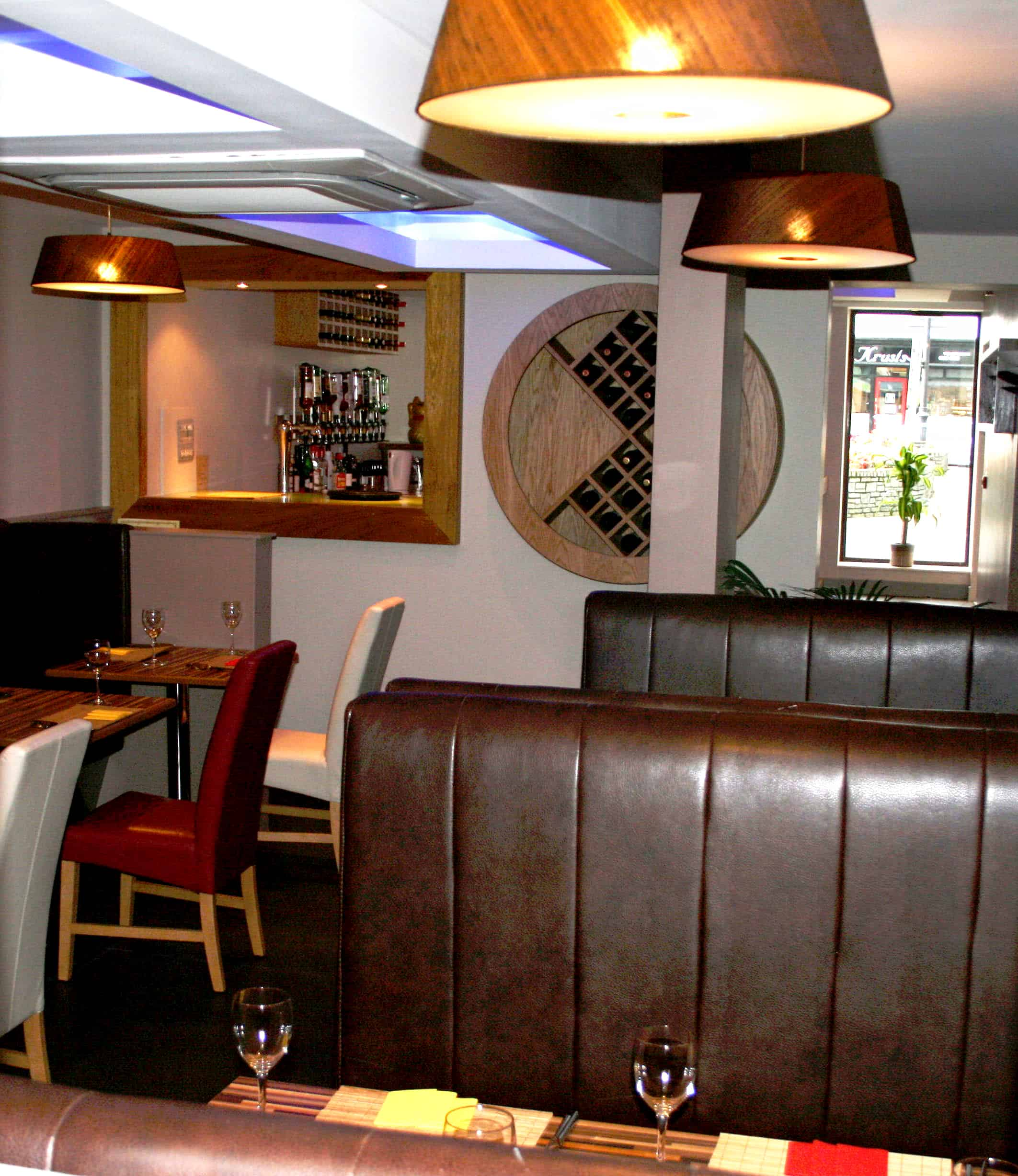 Jackie Huang Restaurant Irvinestown - Lounge Corner To Couples Entrance