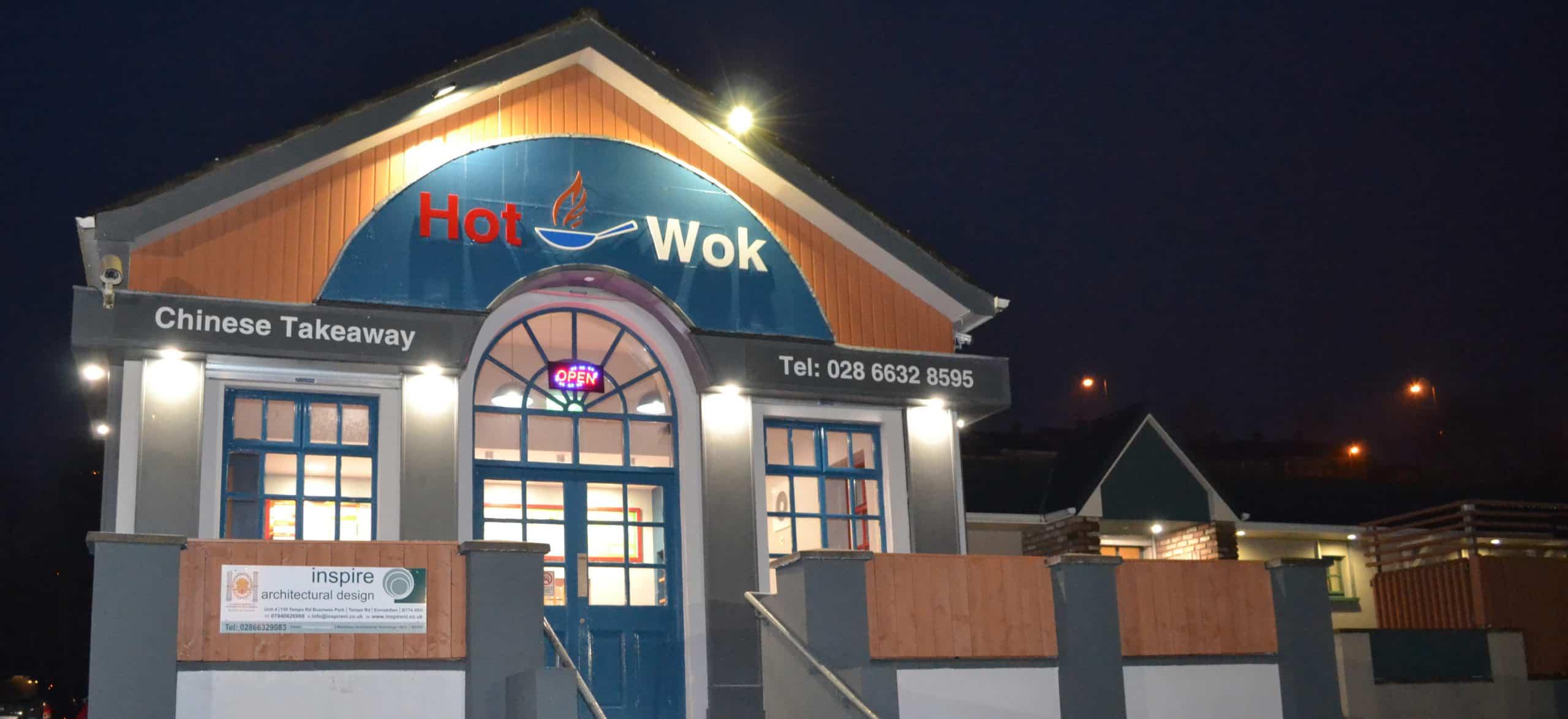 Hot Wok Takeaway Enniskillen - External