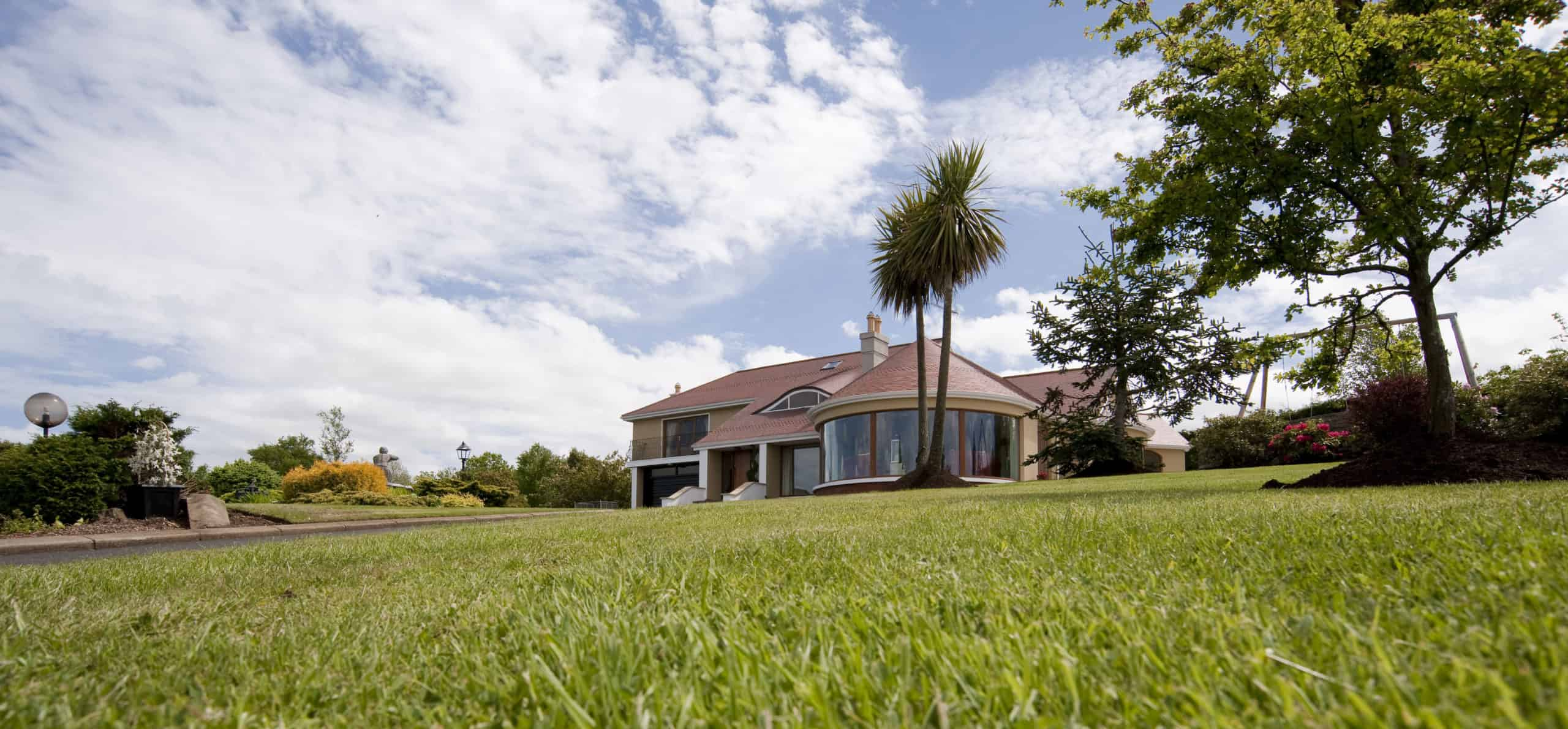 Mullen Extension - Laid on Grass View
