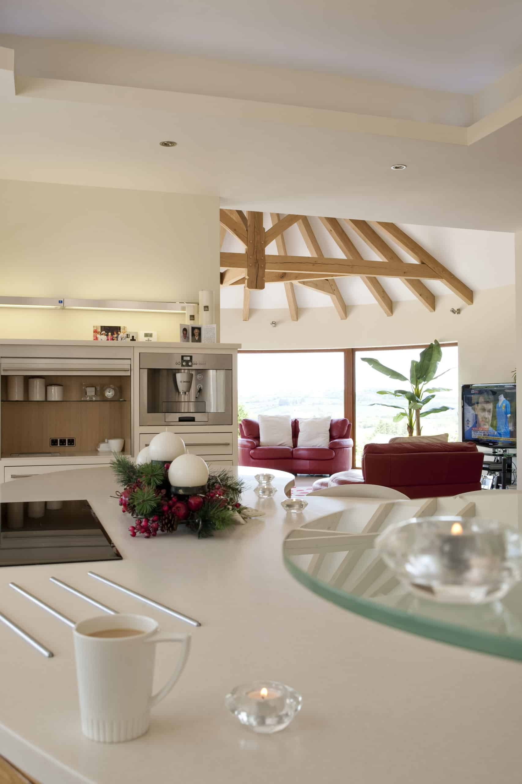 Mullen Extension - View from kitchen island