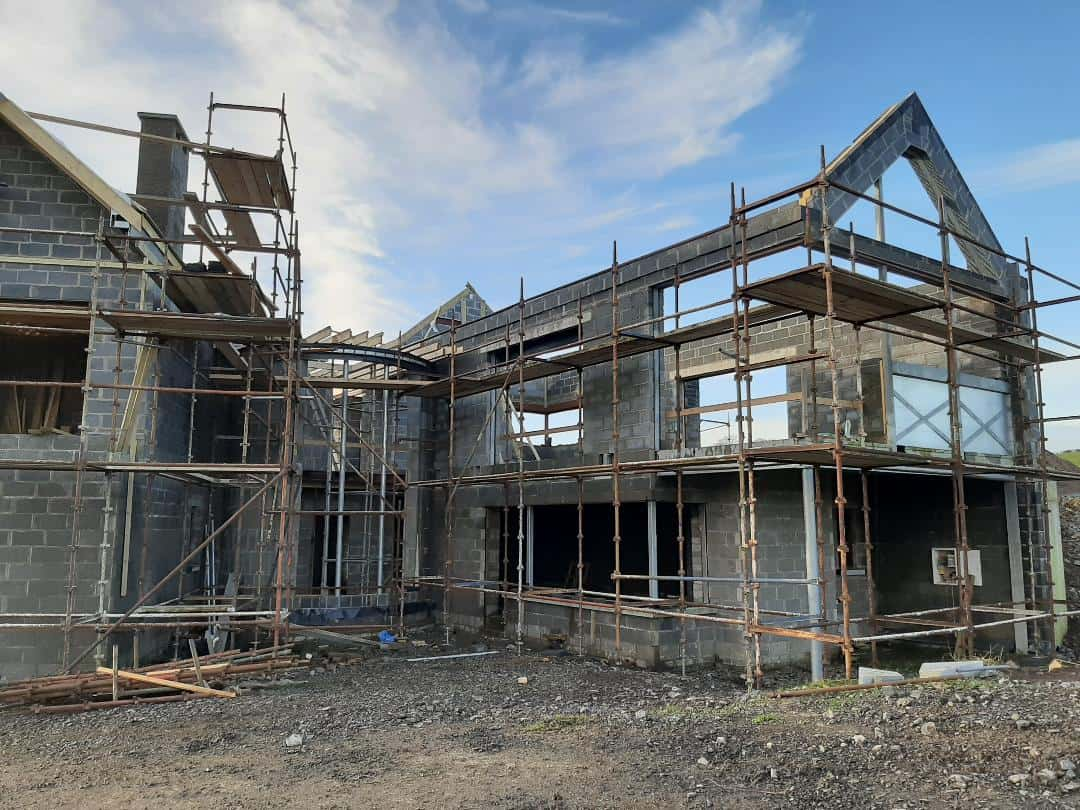 Wilson Dwelling - Under Construction