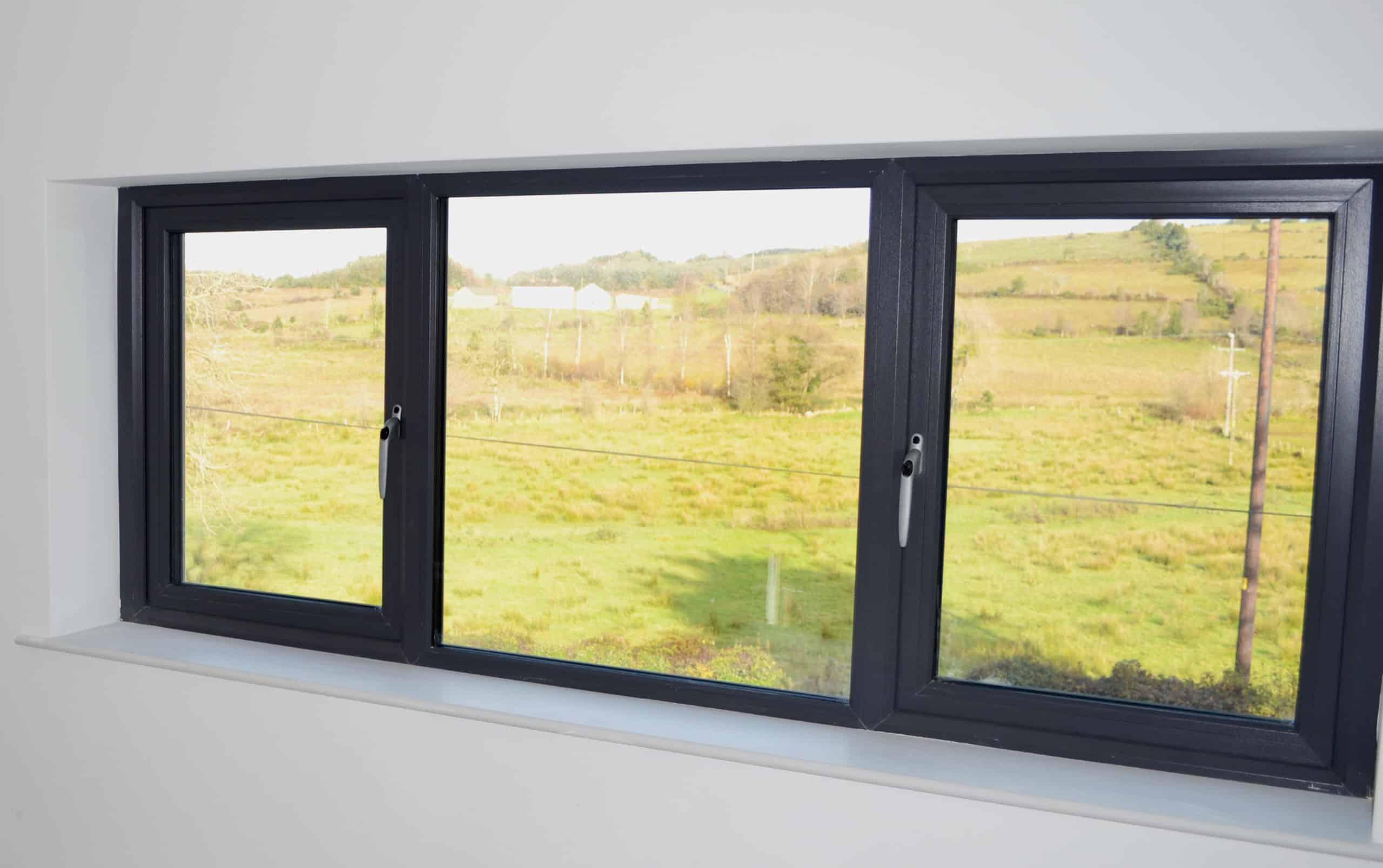 Cullen Dwelling - Kitchen/Dining Windows