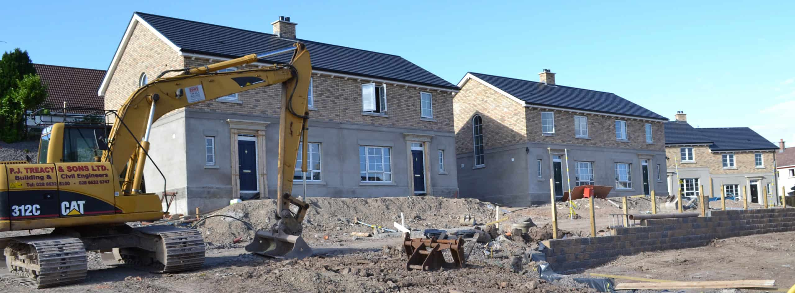 College Park Lane Development Enniskillen - Under Construction