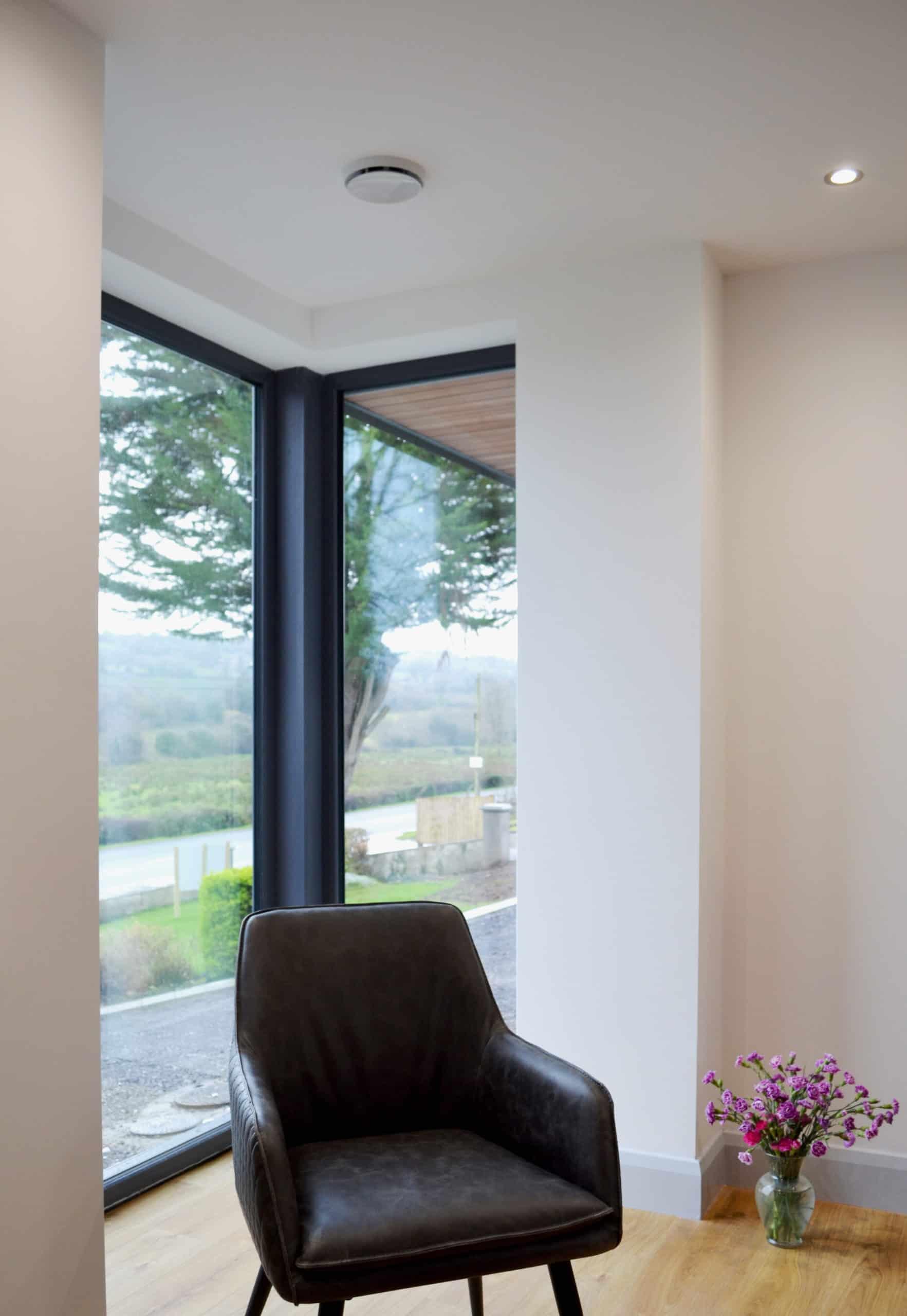 Cullen Dwelling - Corner Window