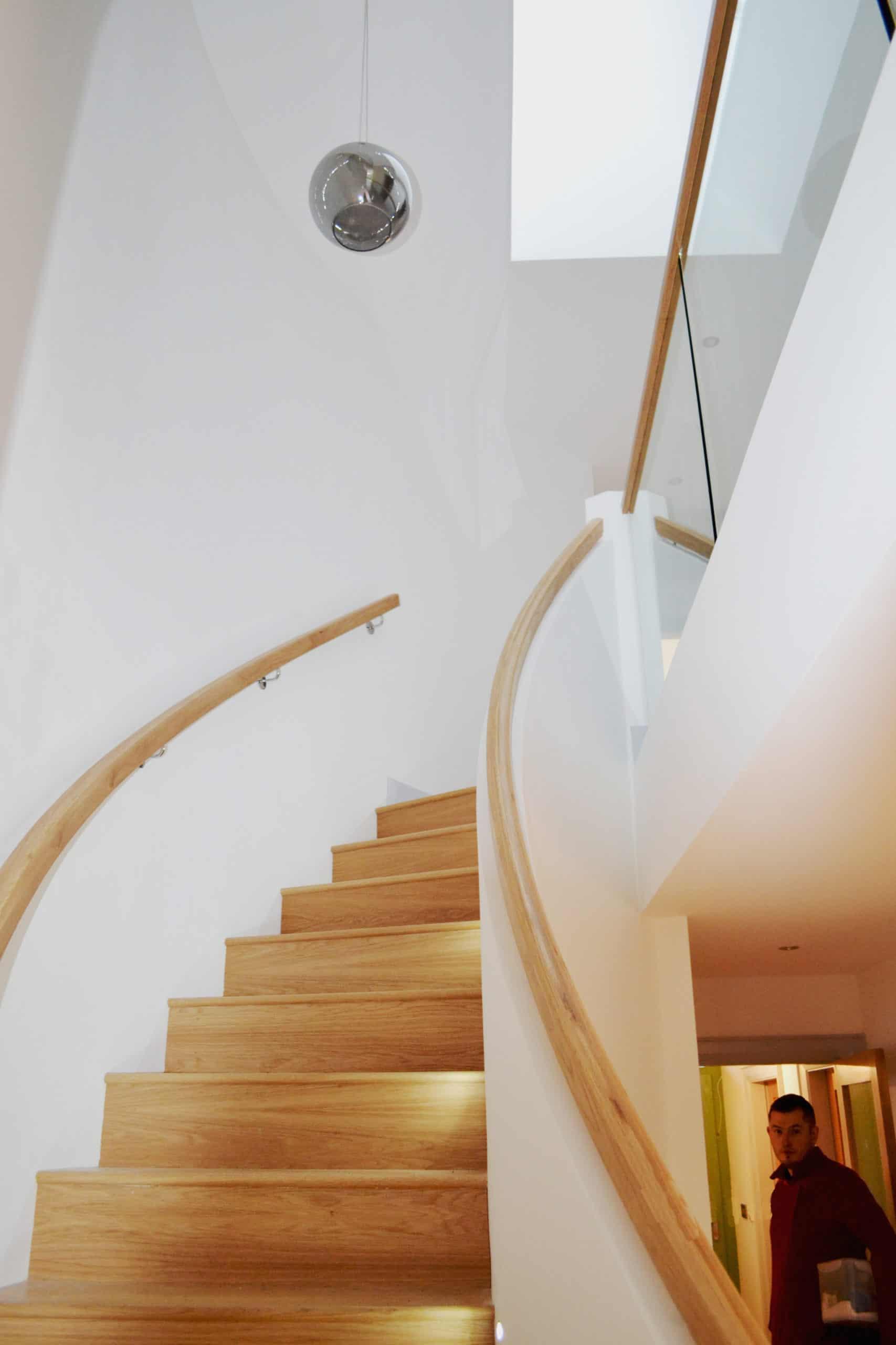 Cullen Dwelling - landing & Stairway