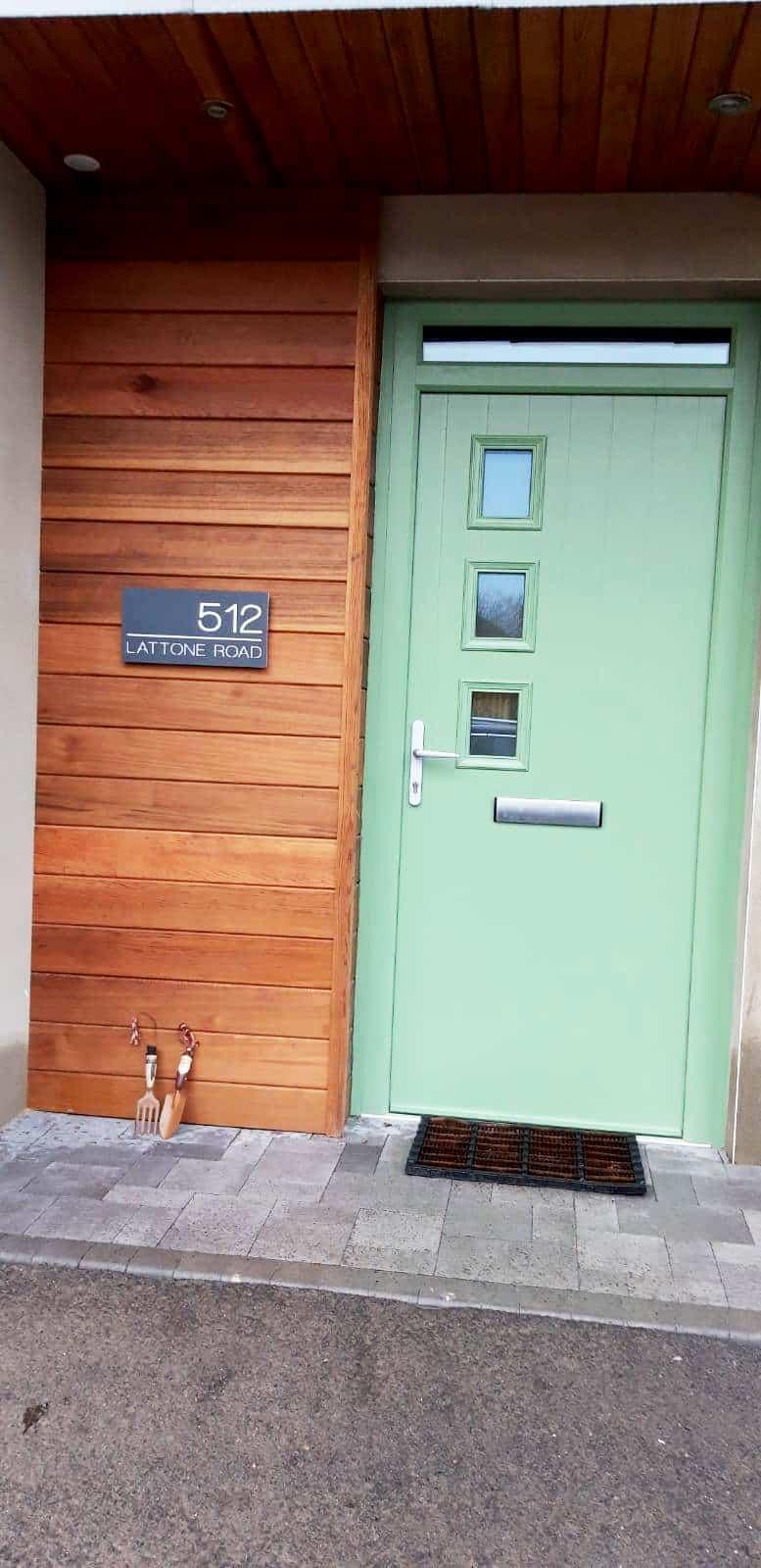 Cullen Dwelling - Front Door