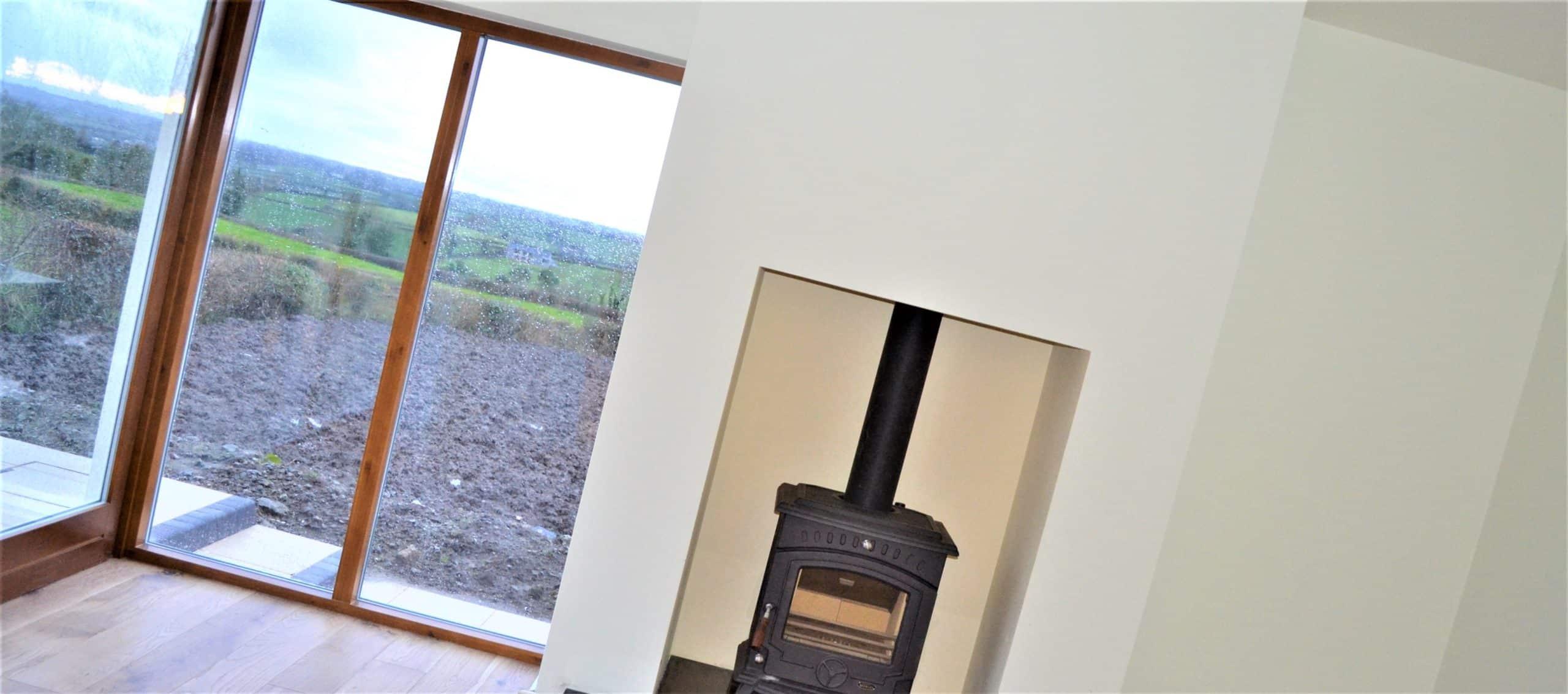 Quigg Dwelling - Corner Window & Stove In Snug