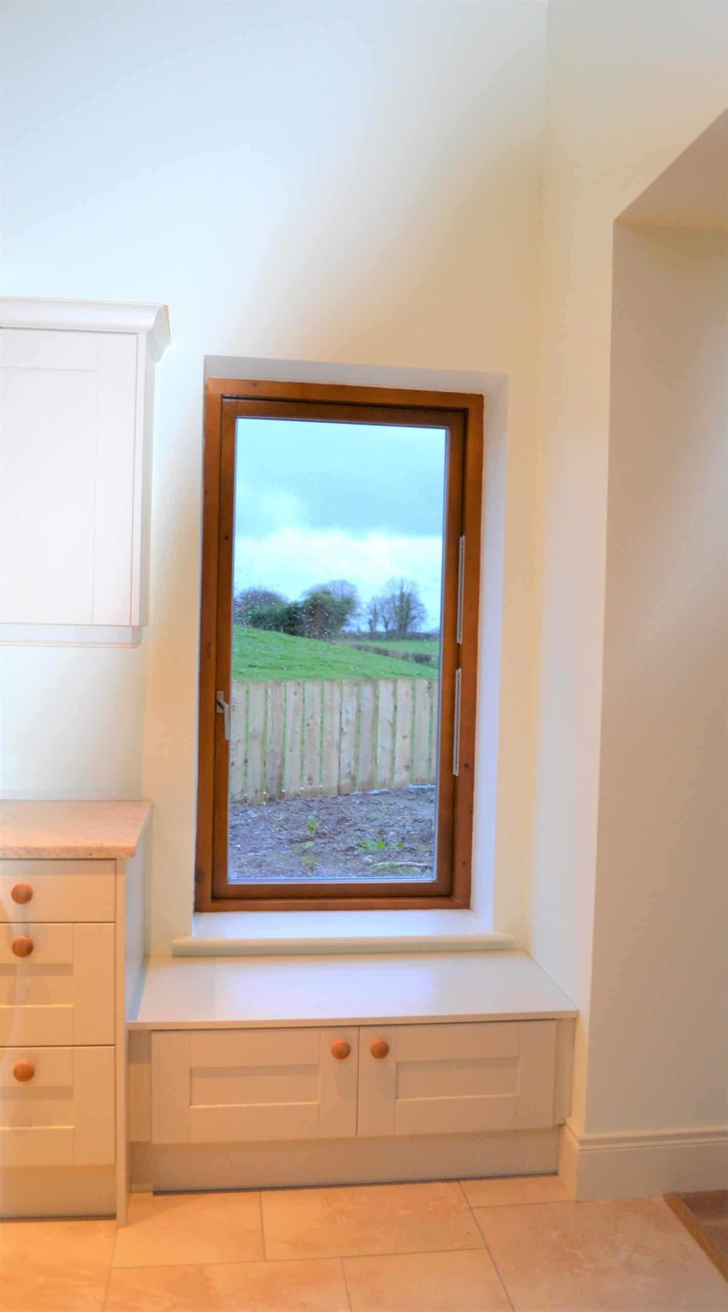 Quigg Dwelling -Window Seat