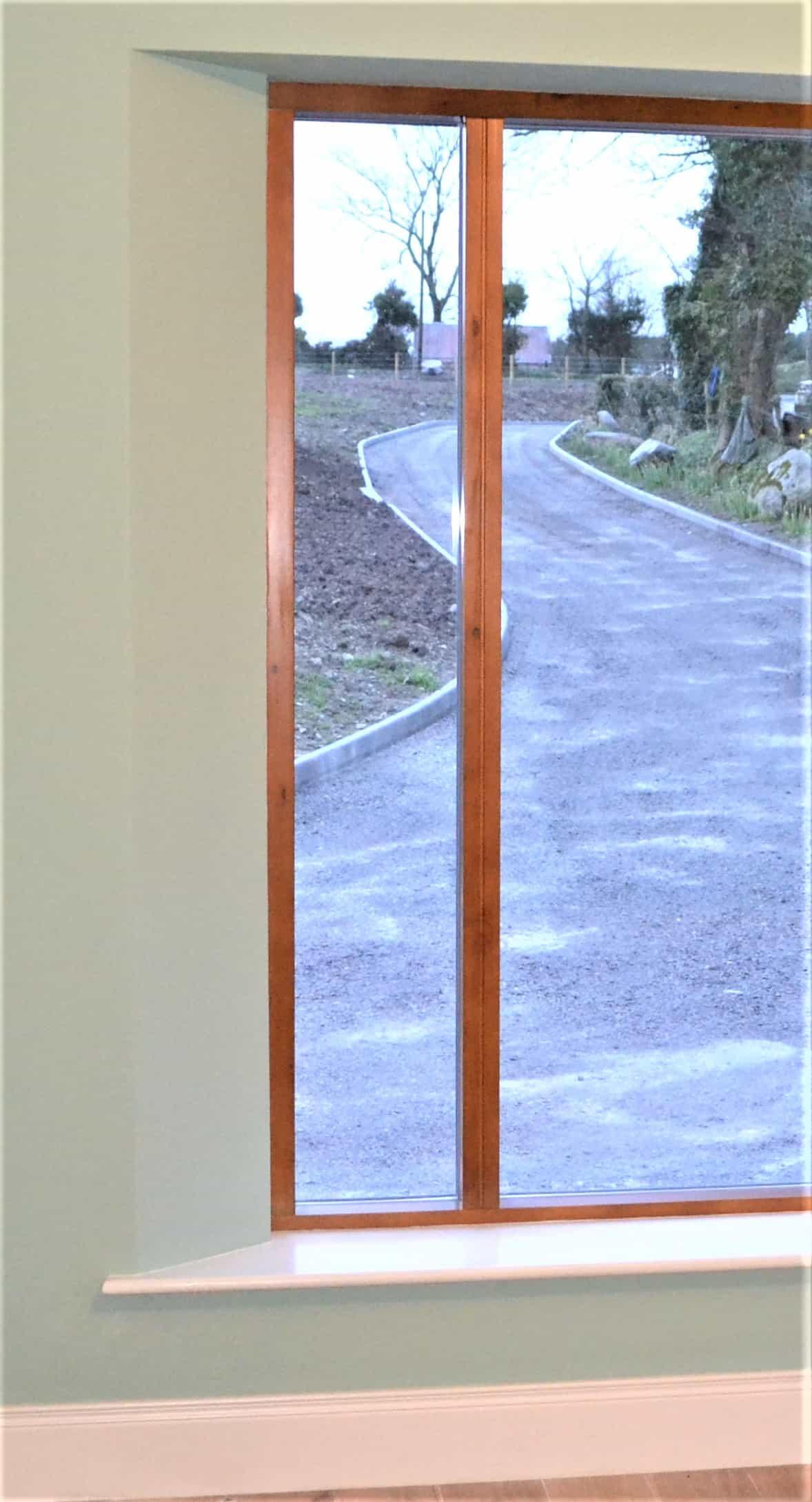 Quigg Dwelling -Living Room Window Detail