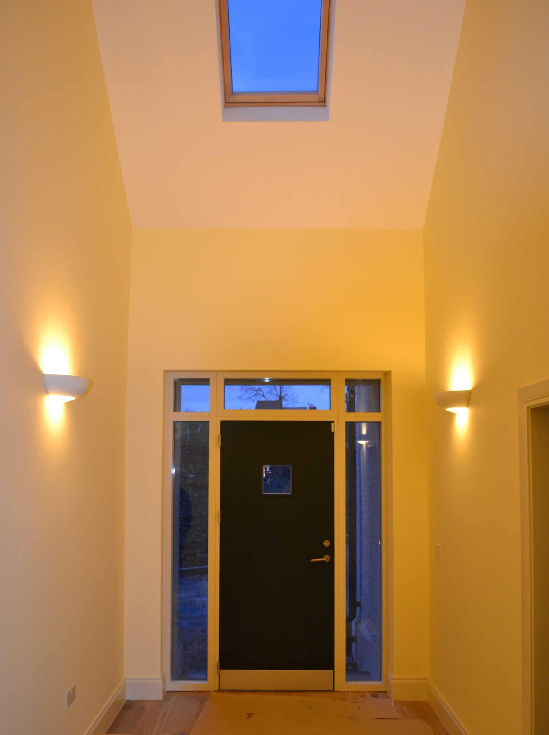 Quigg Dwelling - Entrance Hallway Detail