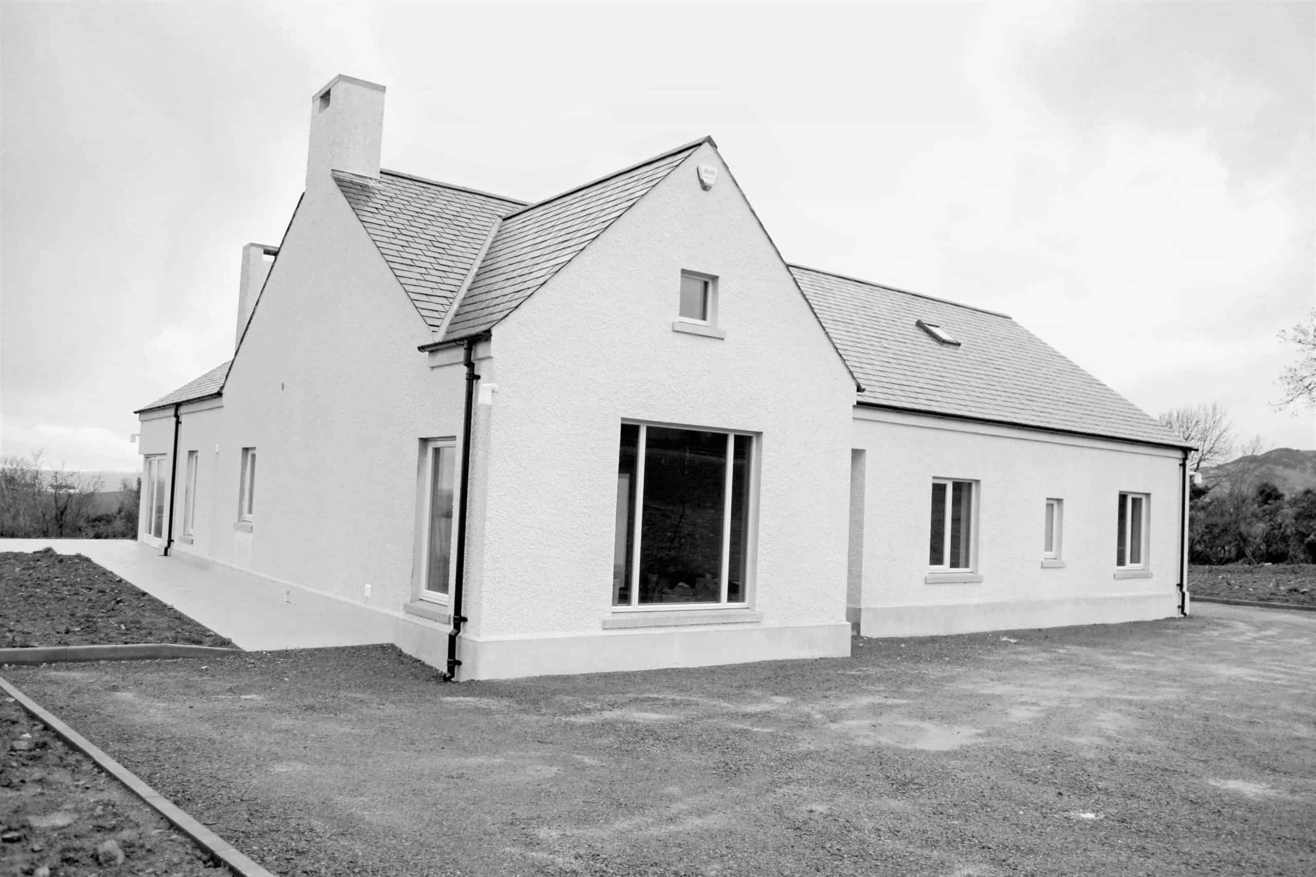 Quigg Dwelling - Front Elevation