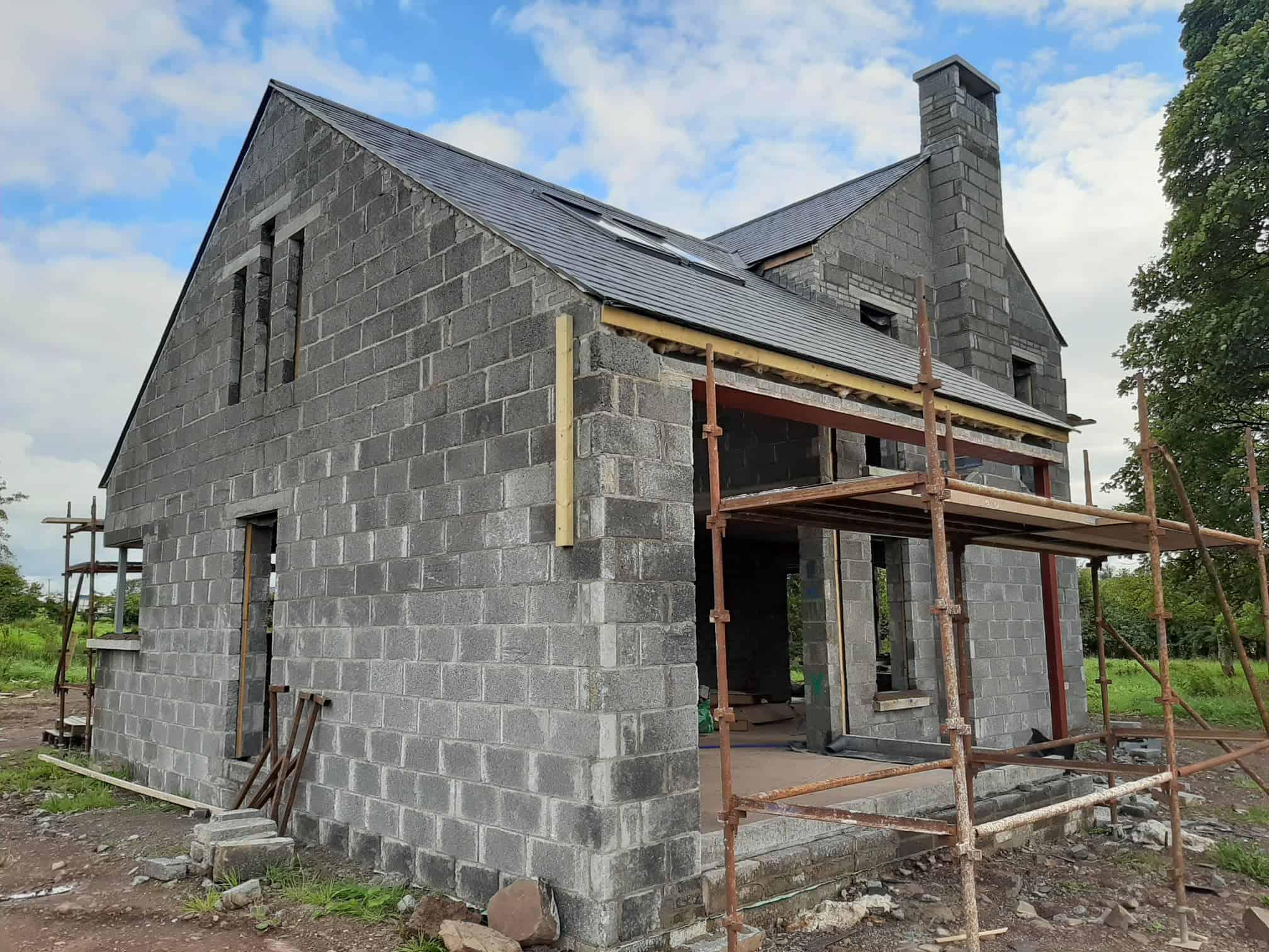 Beatty Dwelling - Under Construction