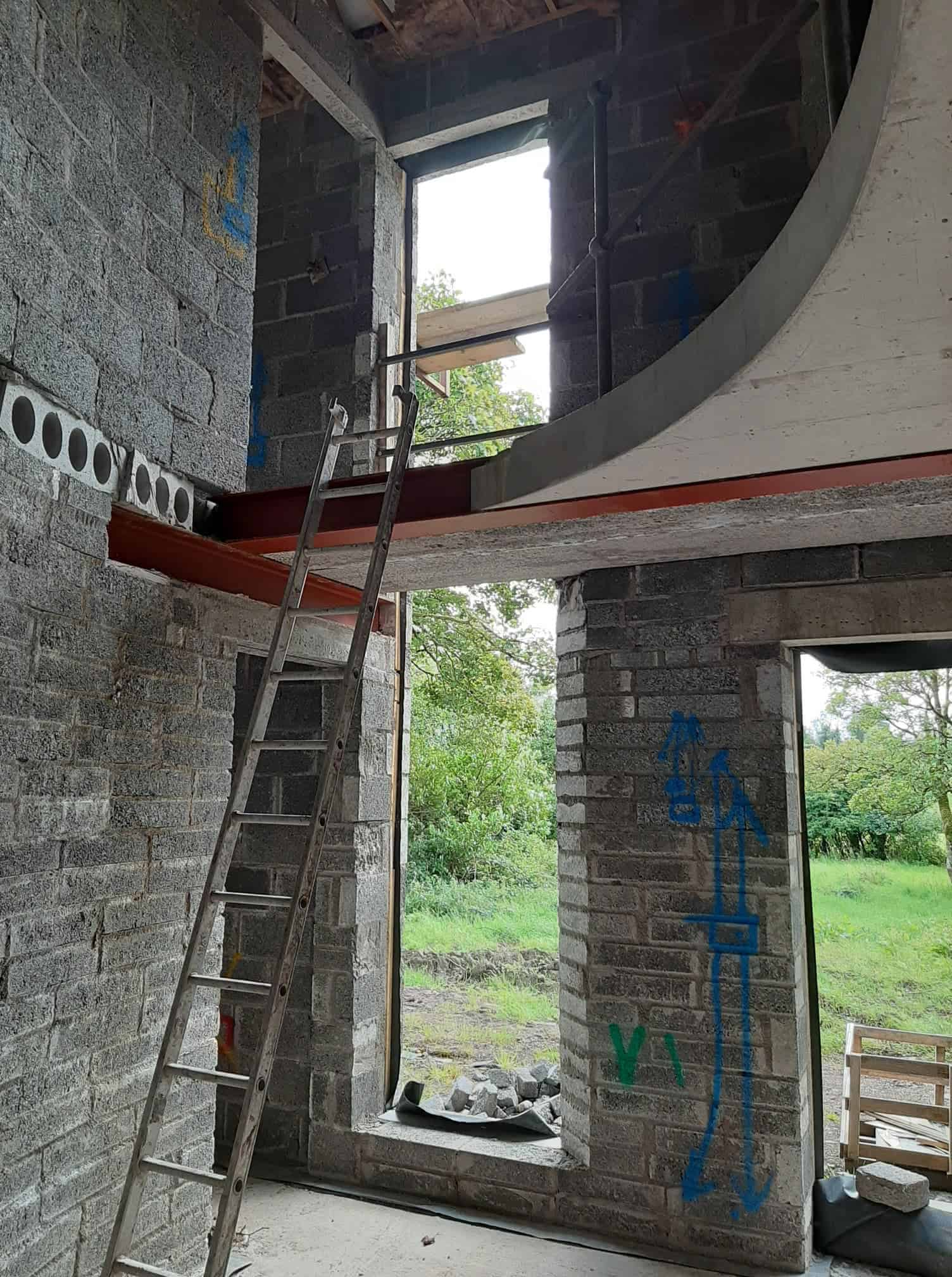Beatty Dwelling - Stairway Construction