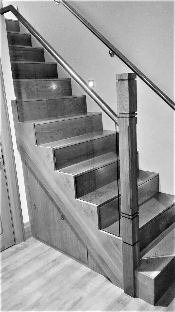 Keown Dwelling - Bottom of Stairs