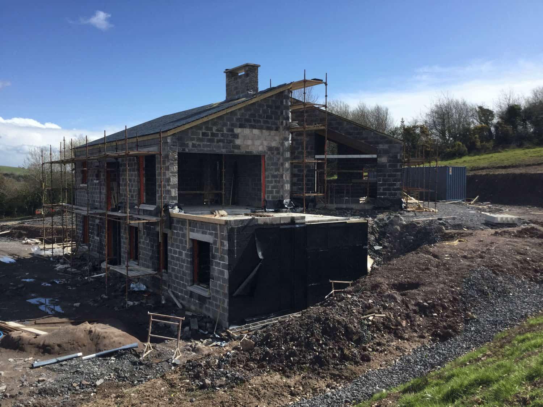 Keown Dwelling - External Construction