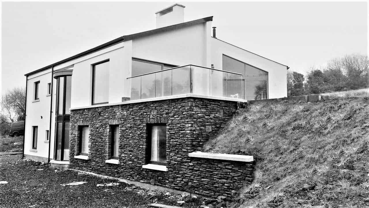 Keown Dwelling - Balcony Elevation