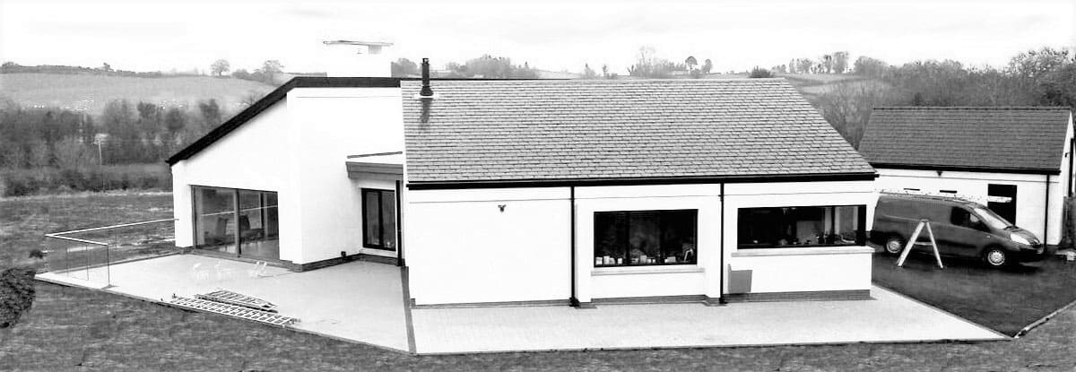 Keown Dwelling - Kitchen Elevation