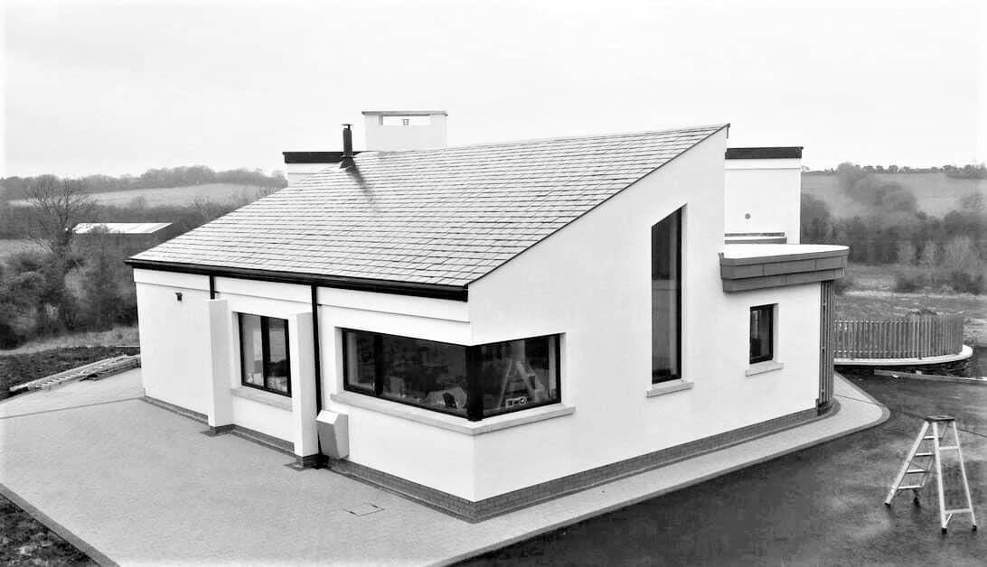 Keown Dwelling - Corner Window Elevation