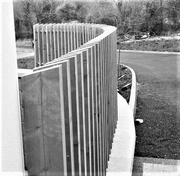 Keown Dwelling - Cladding Guardrail
