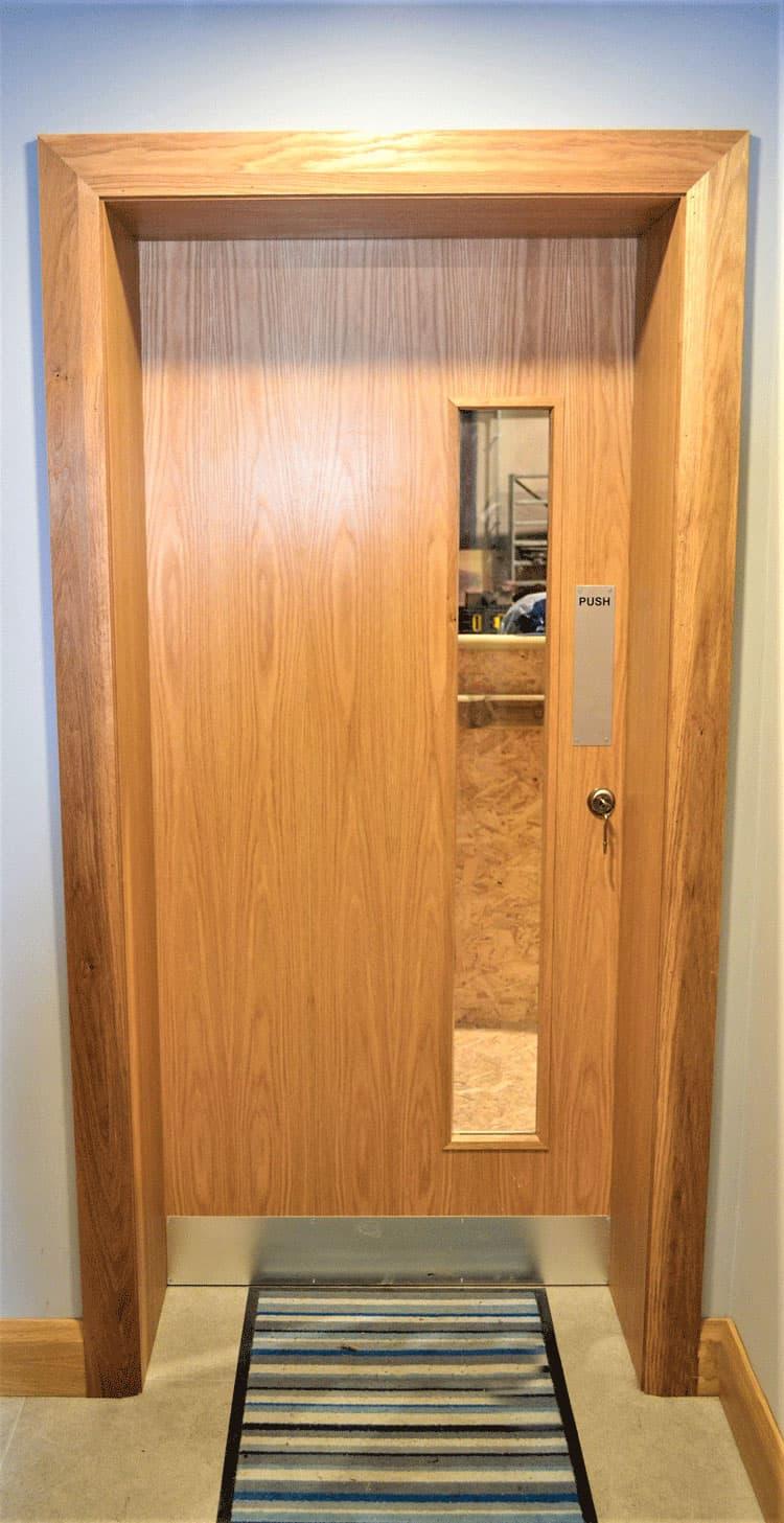 A.K. - Oak Doors Fitout