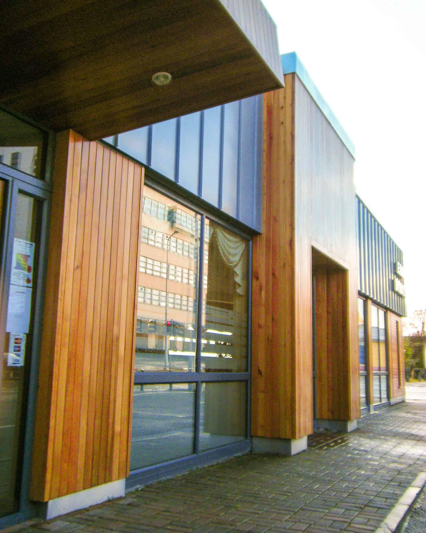 Erne Dynasty Cladding & Entrance