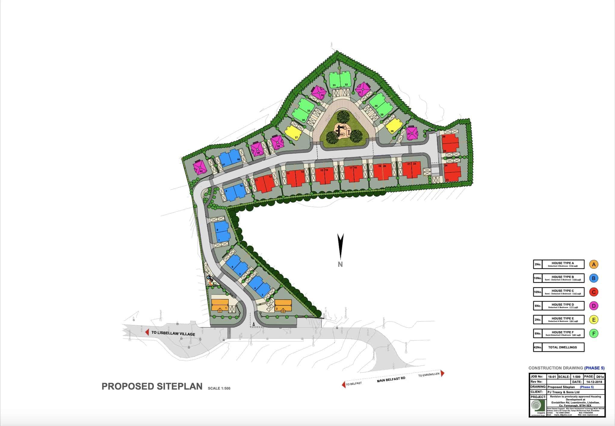 Bluebell Glade Proposed Siteplan