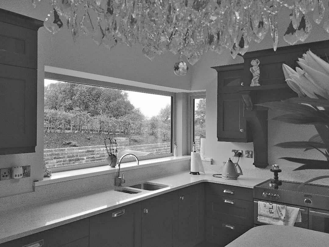 Fleming Dwelling - Coner Window Above Kitchen sink Units