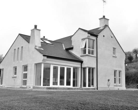 Nagi Dwelling - Elevation Rear View
