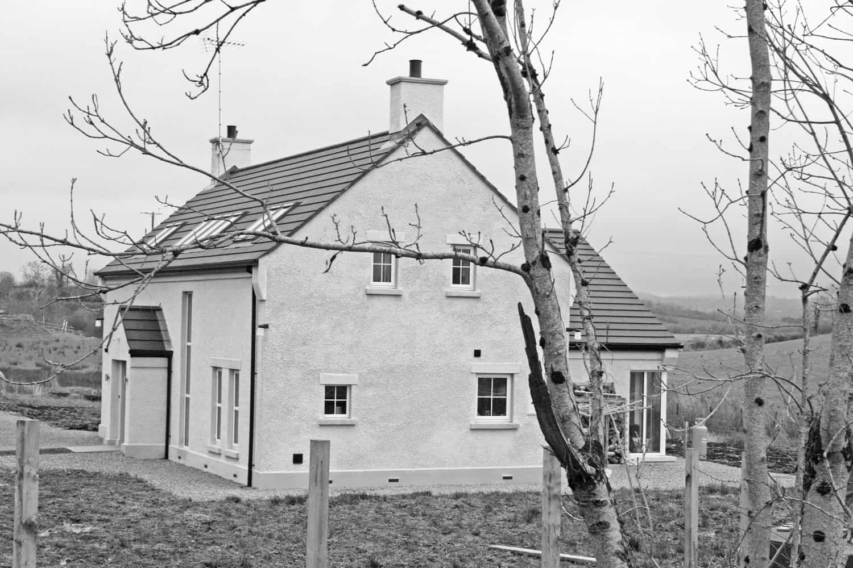 Nagi Dwelling - Elevation Side View