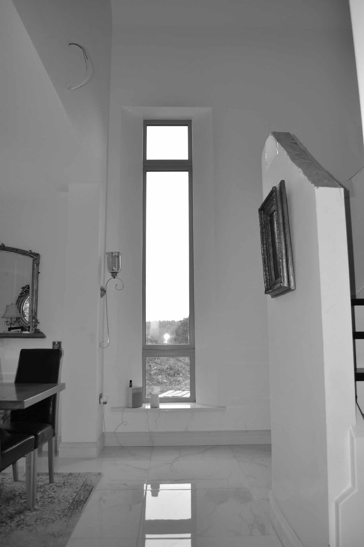 Fleming Dwelling -Feature Tall Hallway Window