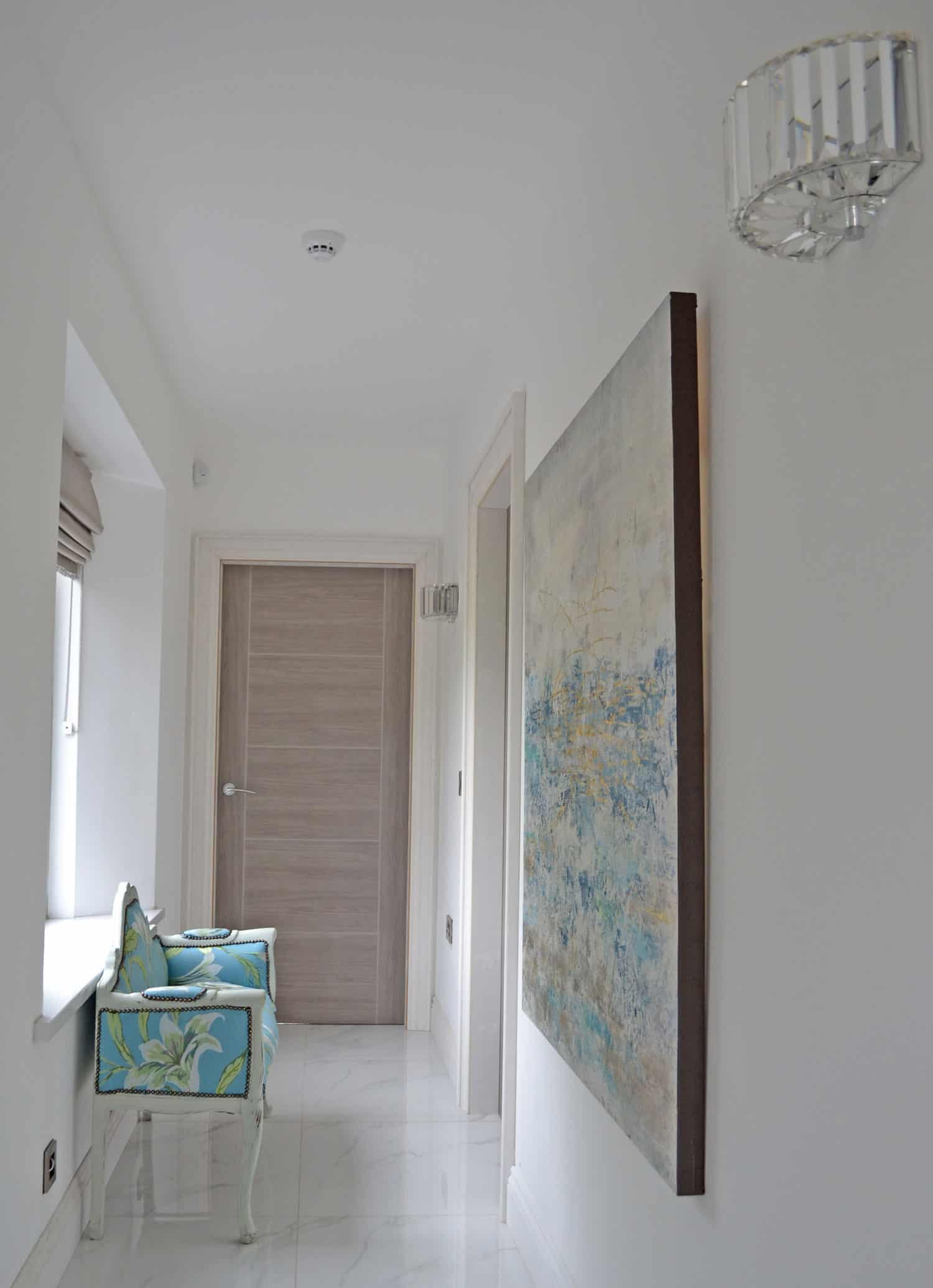 Fleming Dwelling -Hallway To Bedrooms & Typical Internal Door