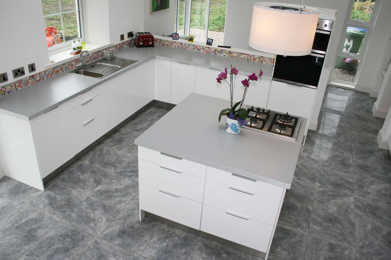 Nagi Dwelling - Internal Kitchen Layout