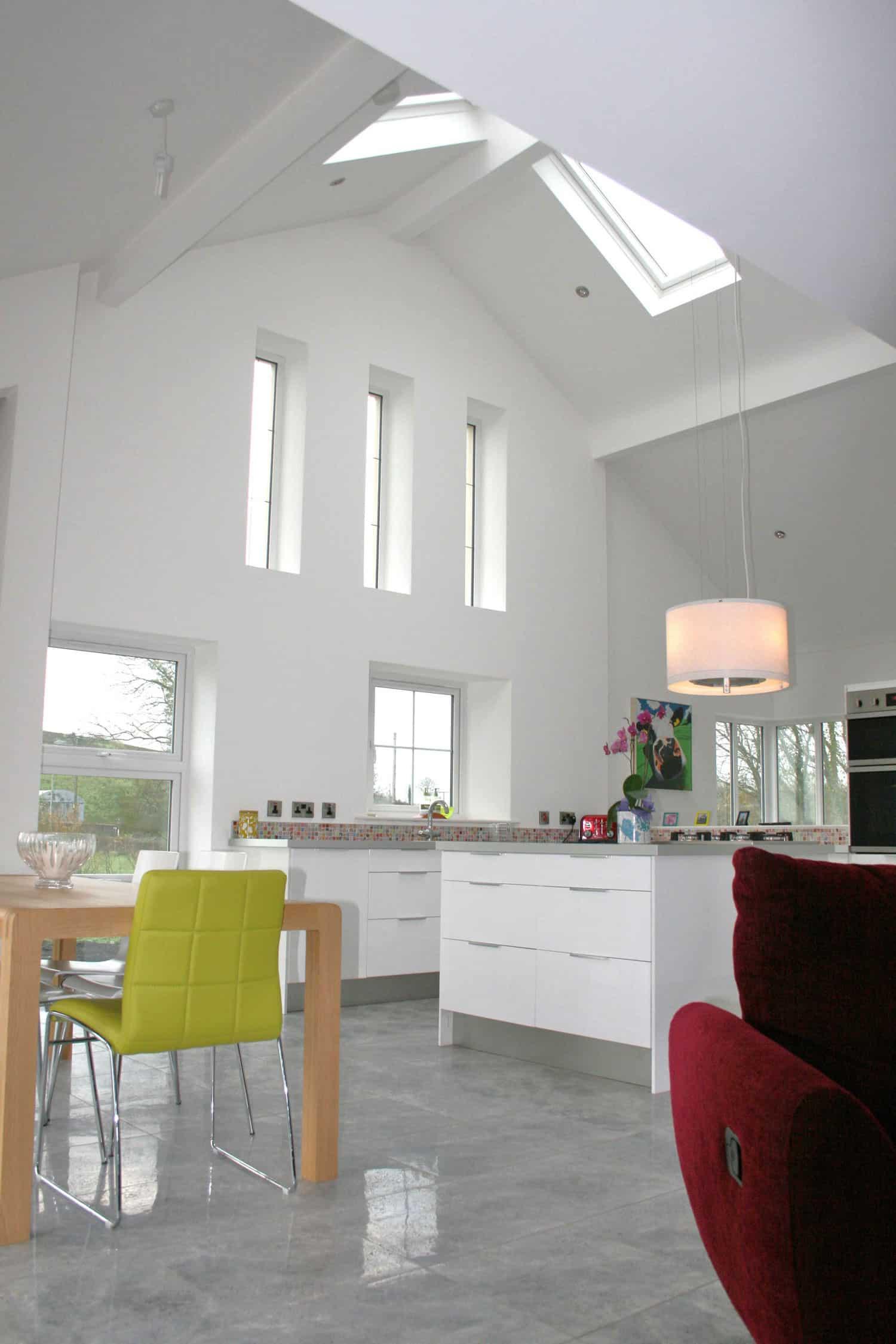 Nagi Dwelling - Internal Kitchen Vaulted Ceiling