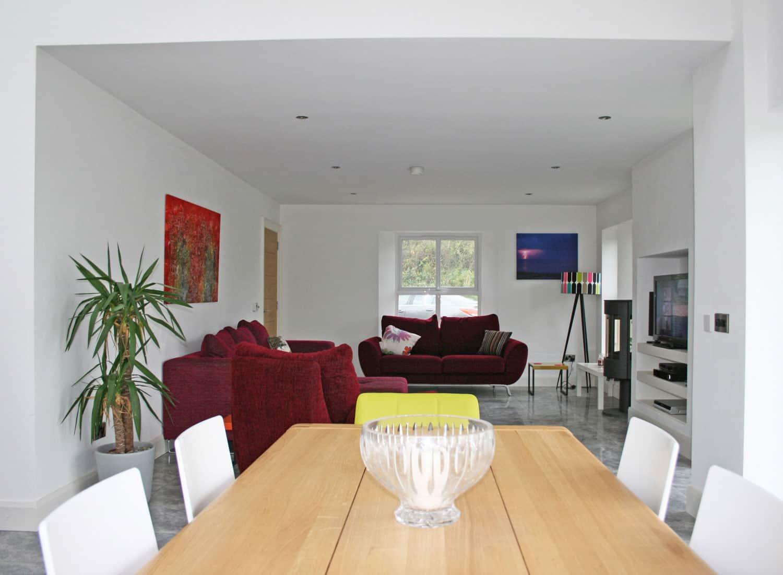 Nagi Dwelling - Internal Kitchen View To Sitting Area
