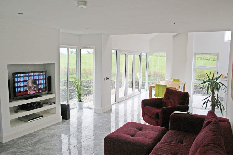 Dining Room Windows - Nagi Dwelling