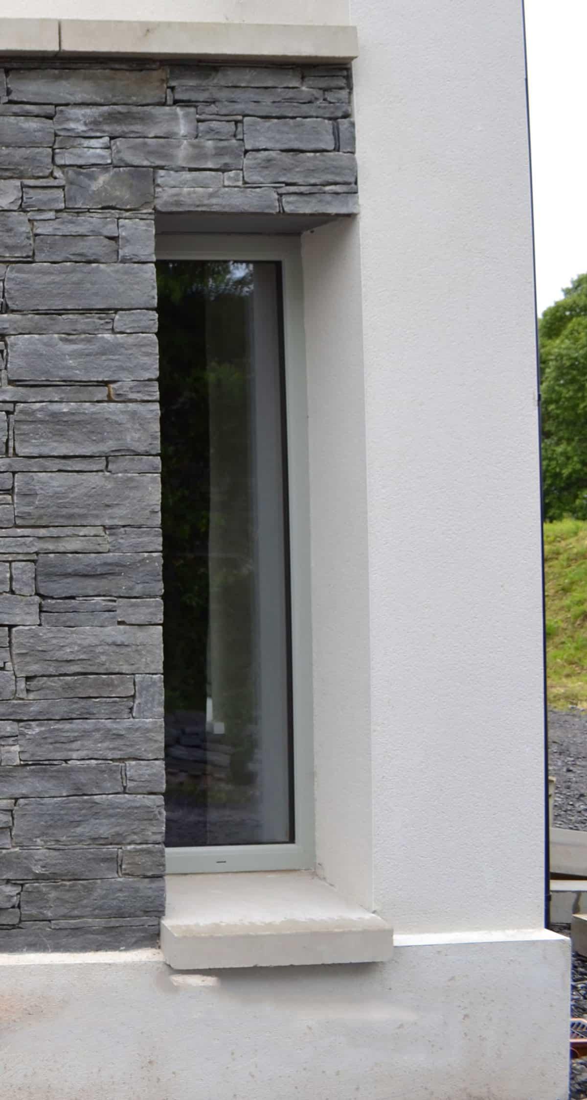 Fleming Dwelling - McMonagle Quartz Stone & Krend Render Finish