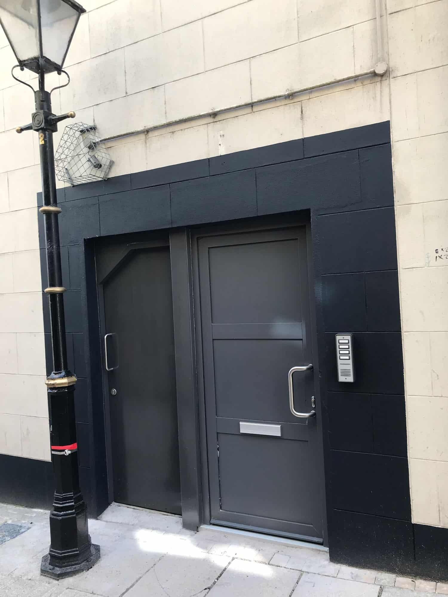 New Front Door Access To Enniskillen Flats