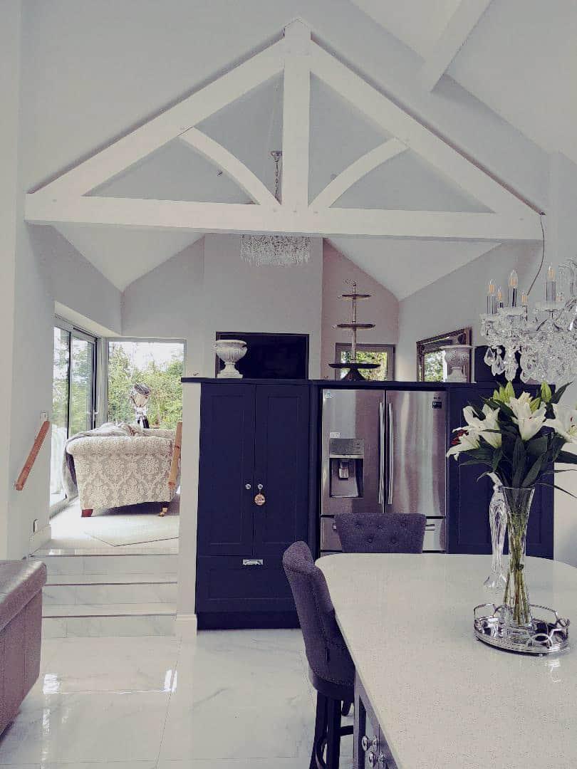 Fleming Dwelling - Split Level Kitchen & Sitting Area