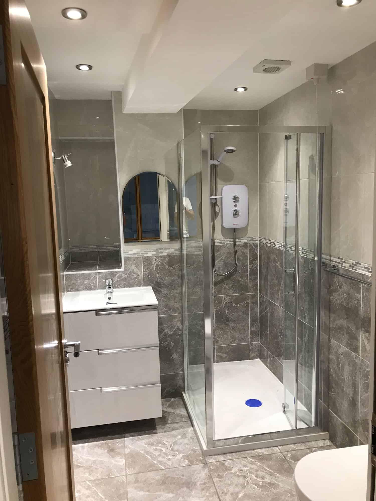 Typical Apartment Bathroom Enniskillen