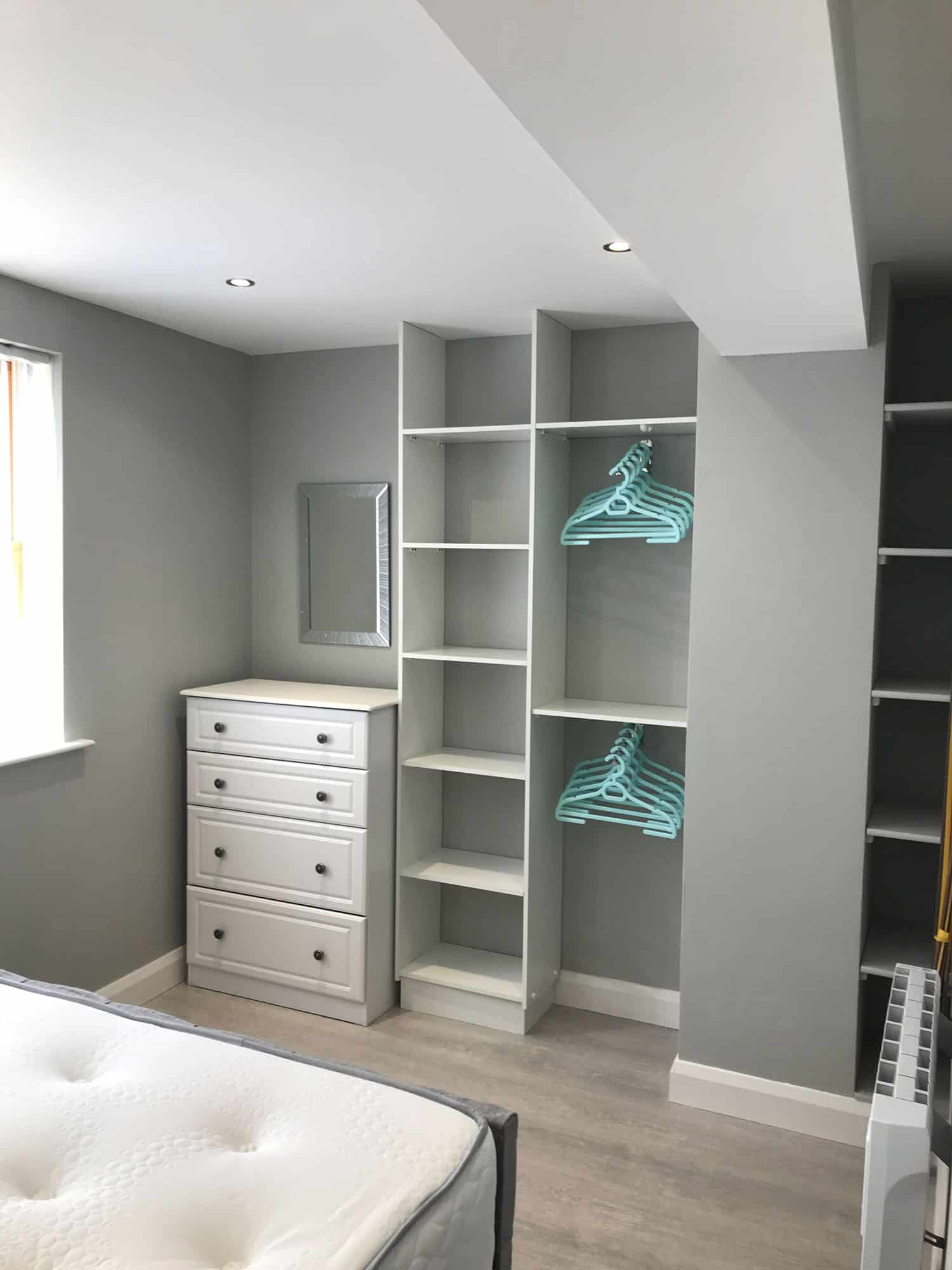 Typical Apartment Bedroom Storage Ennsikillen
