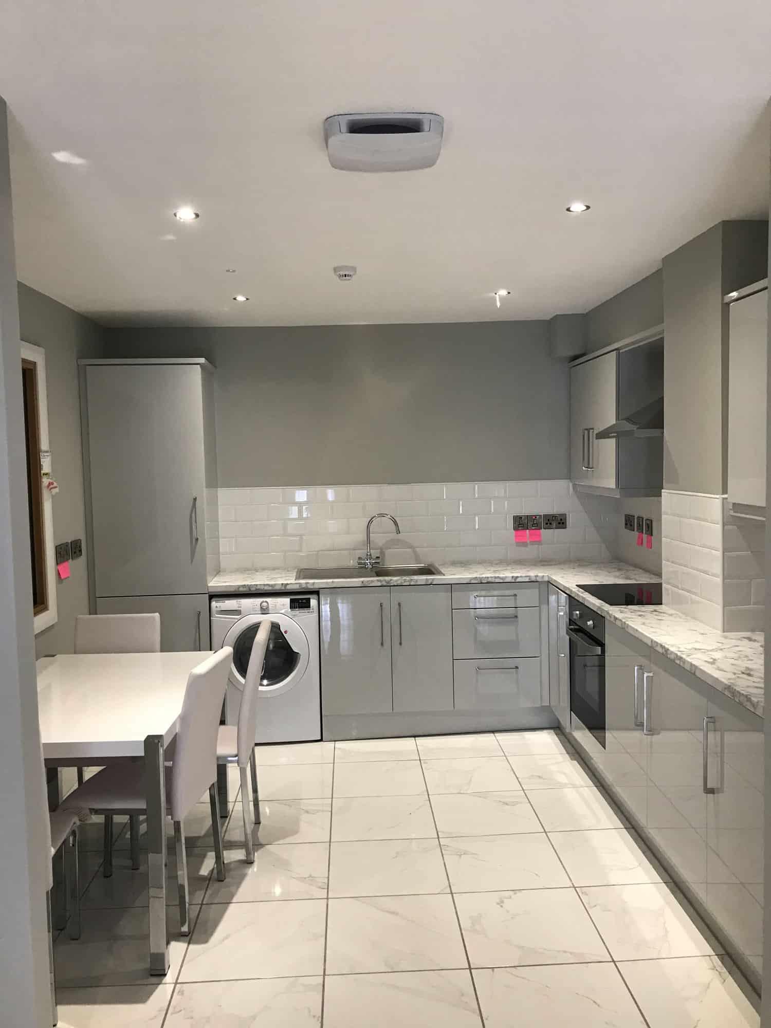 Two-Bedroom Kitchen Area Enniskillen Flats