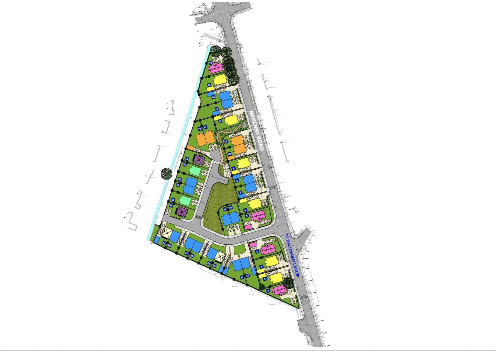 Westminister Court Siteplan