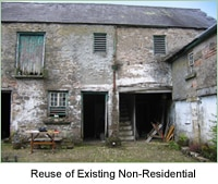 The Conversion and Reuse of Existing Non-Residential